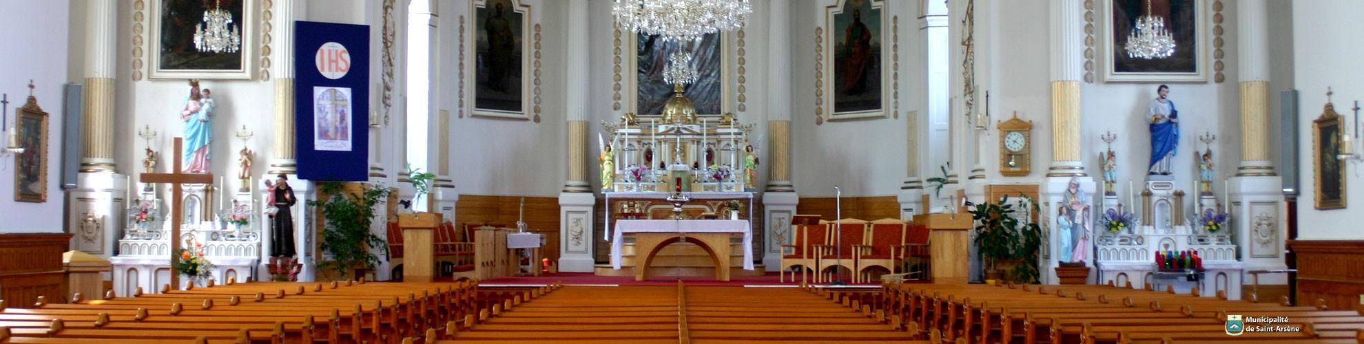 Hero - Église (intérieur)